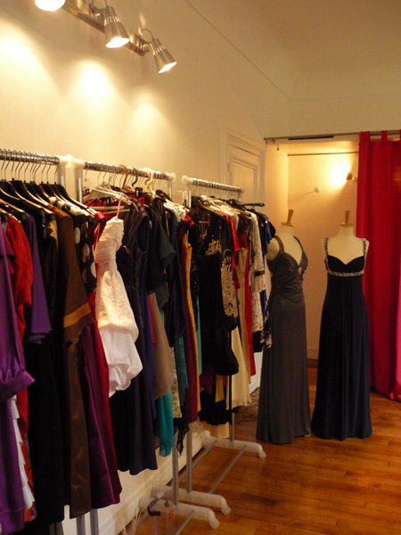 showroom location de robes