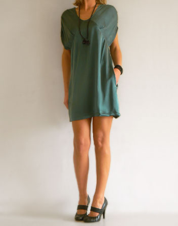 robes de soire. robe-courte-soie-ble.