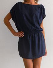 Robe courte tunique