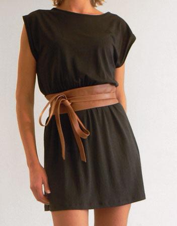 location de robe noire en jersey sessun robe noire sessun With ceinture large pour robe