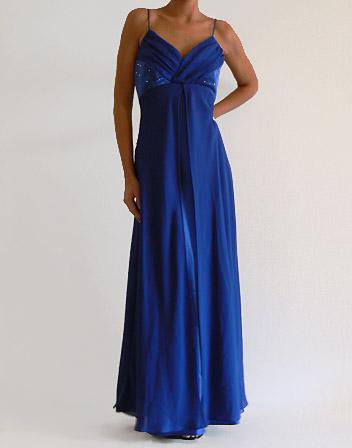 index of img photos robes longues robe longue bleu nuit satin mousseline. Black Bedroom Furniture Sets. Home Design Ideas
