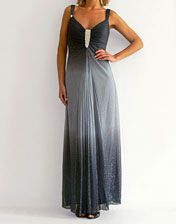 location robe longue gris degrade