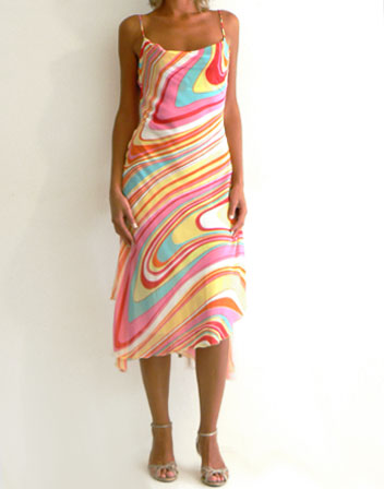 robe mi longue coloree - Robe Longue Colore