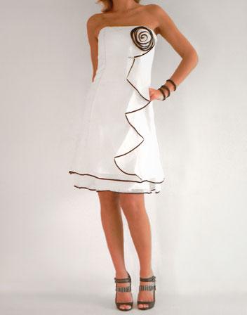 4695ce085e2 location robe de soirée blanche · location robe bustier blanc
