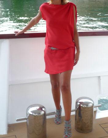 Les petites robes soie